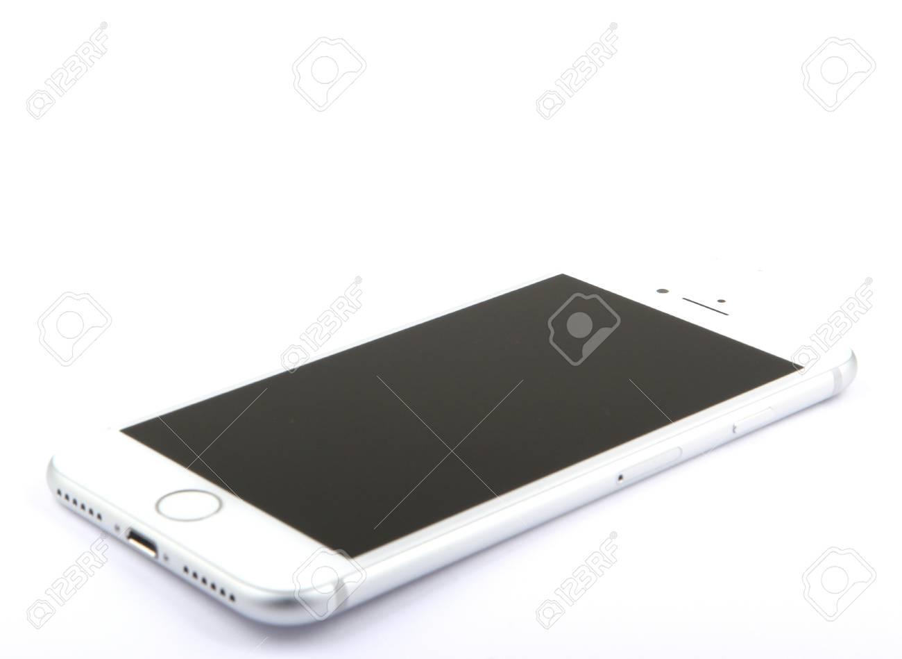 Immagini Stock Aytos Bulgaria 26 Ottobre 2016 Iphone 7 Isolato