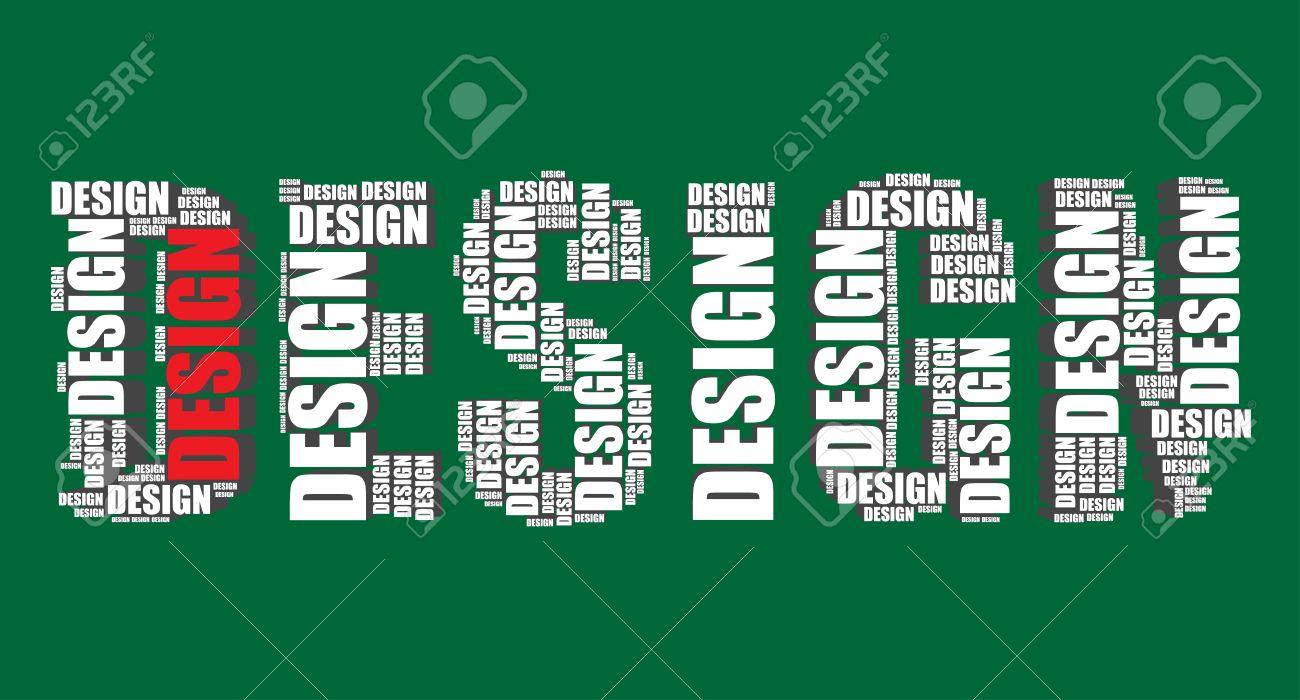 wordart designs info design typography 3d text word art royalty cliparts vectors
