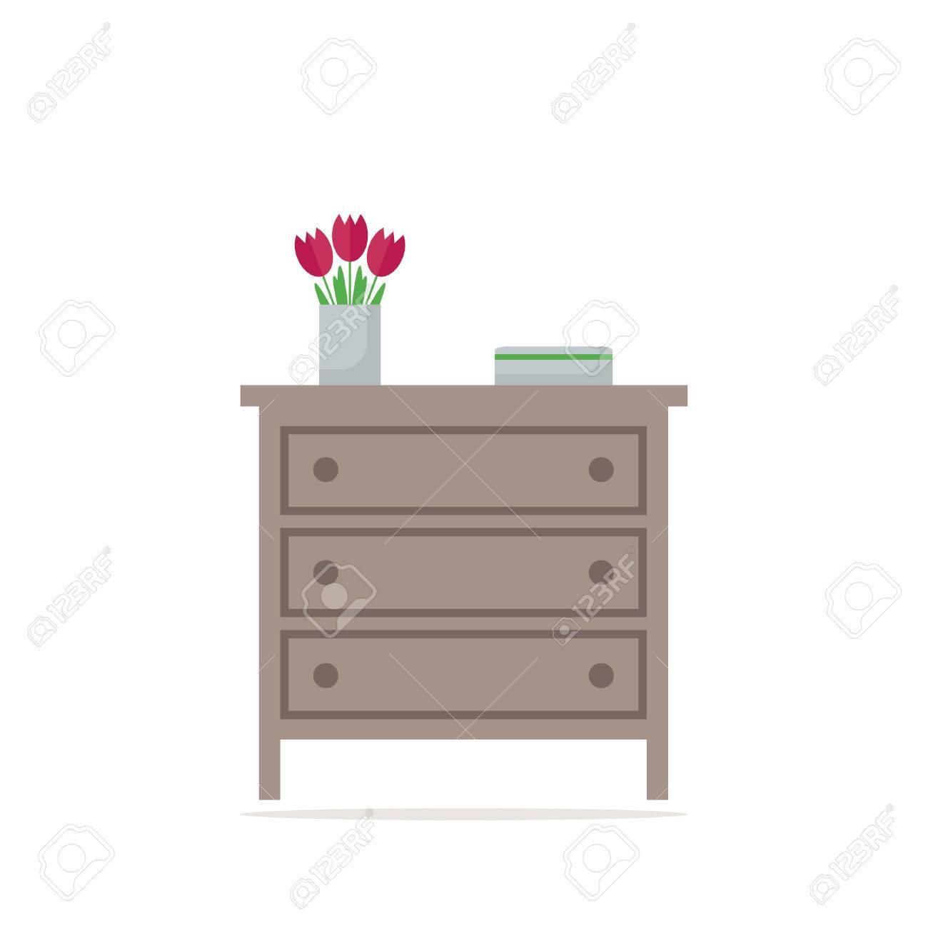 Encantador Muebles De Plantilla En El Pecho Galería - Muebles Para ...