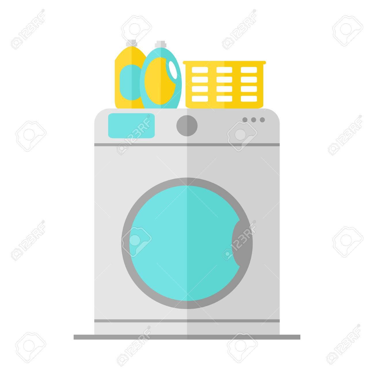 bathroom furniture clipart. washing machine isolated icon on white background. bathroom appliance icon. furniture. liquid furniture clipart