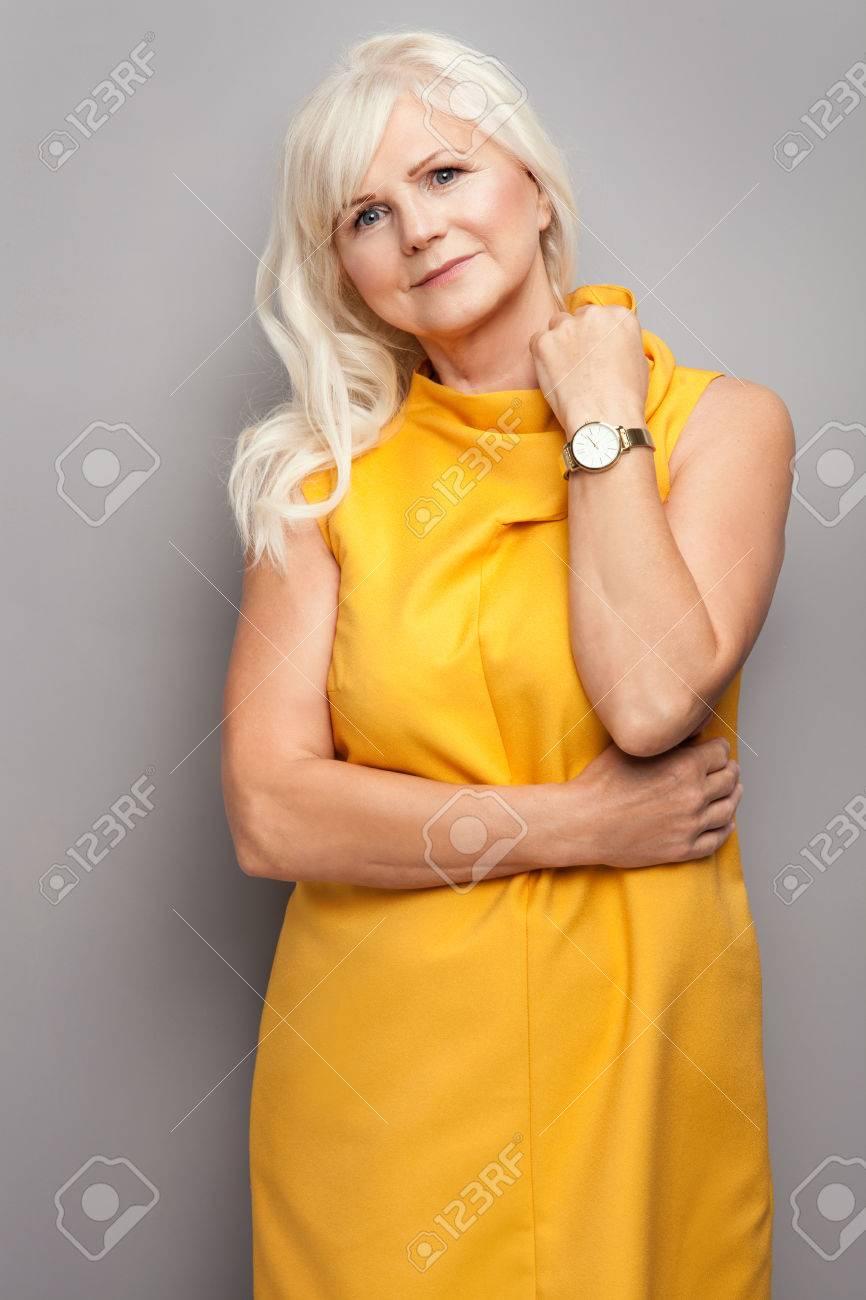 Vestidos largos mujer mayor