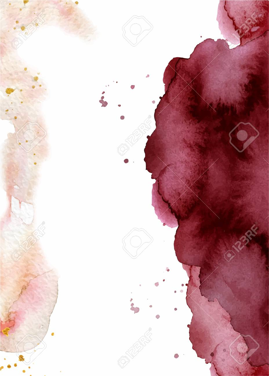 watercolor abstract background hand drawn watercolour burgundy royalty free cliparts vectors and stock illustration image 114550572 watercolor abstract background hand drawn watercolour burgundy