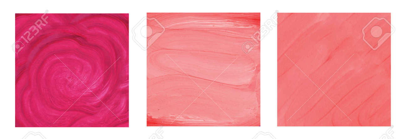 Abstract pink watercolor background hand drawn illustration - 170221068