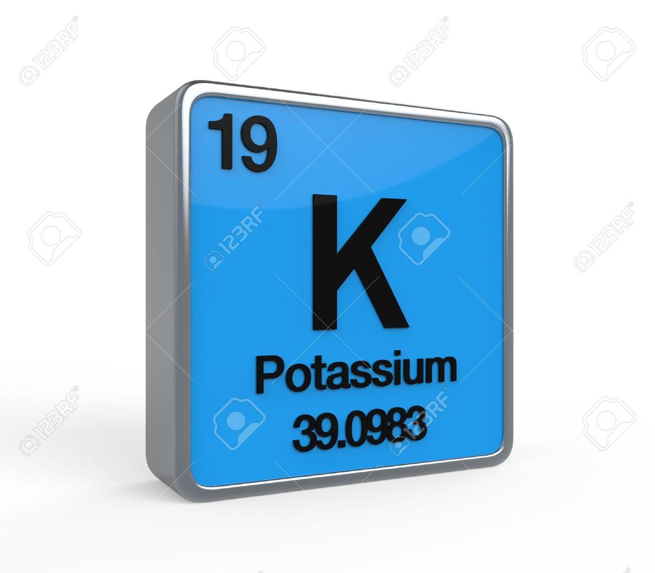 Potassium element periodic table stock photo picture and royalty potassium element periodic table stock photo 21700923 urtaz Gallery