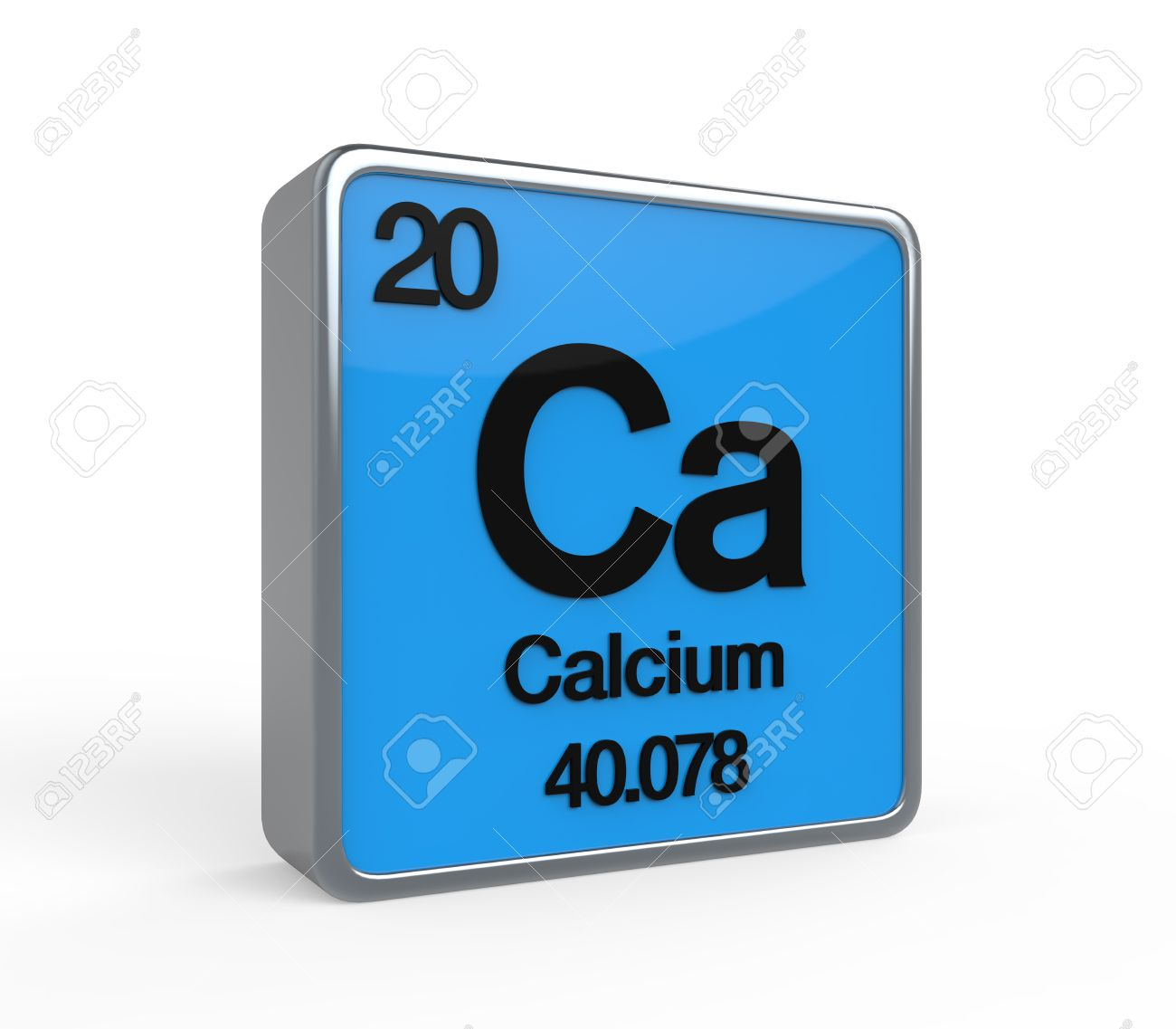 Calcium Element Periodic Table Stock Photo Picture And Royalty Free