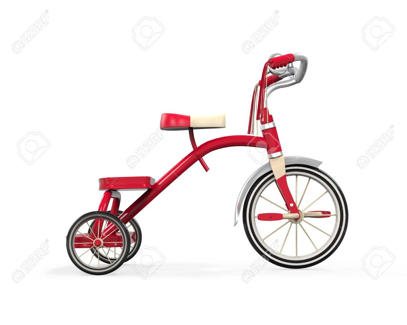 Kids Tricycle Isolated Stock Photo - 21701001