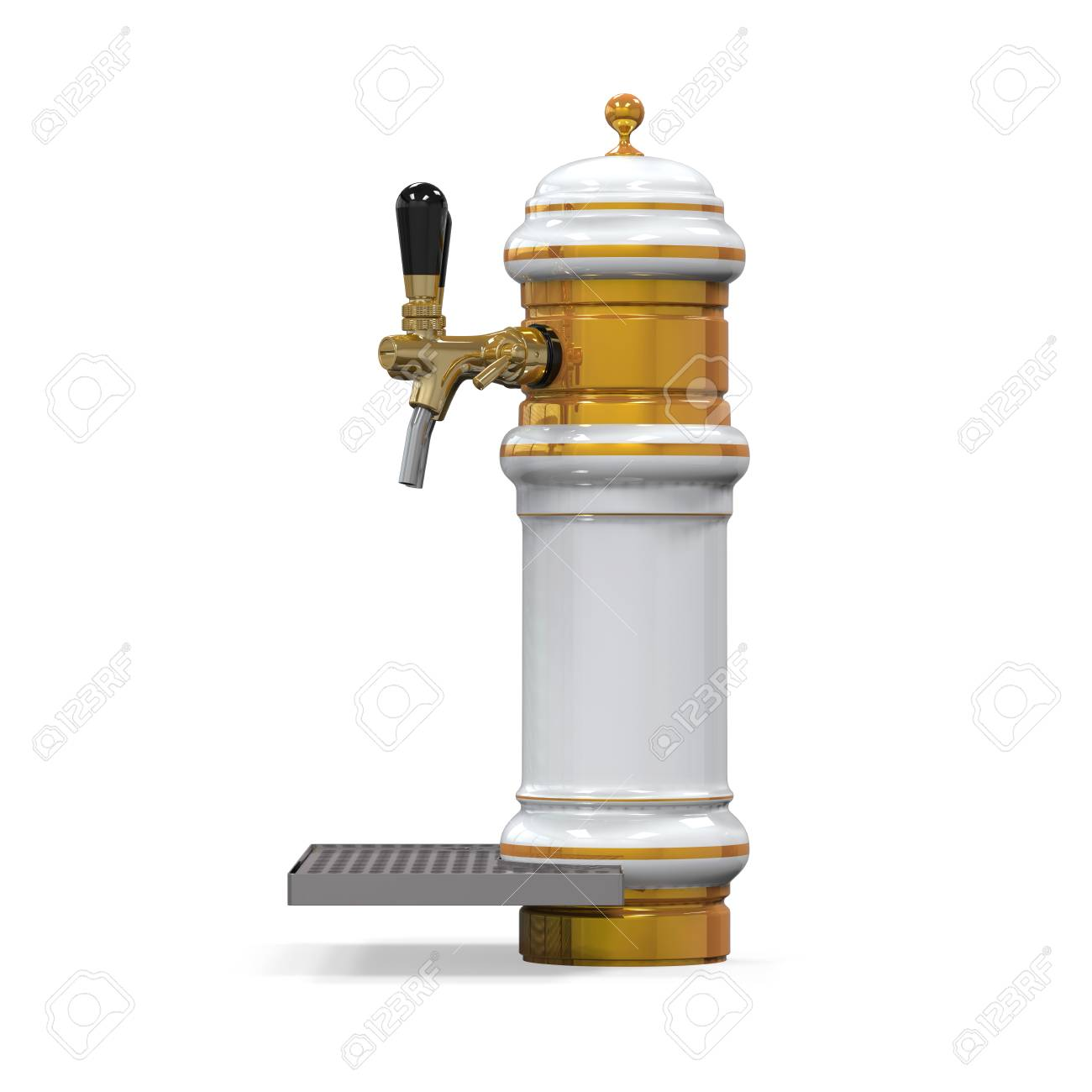 Beer Tap Isolated Stock Photo - 24566078