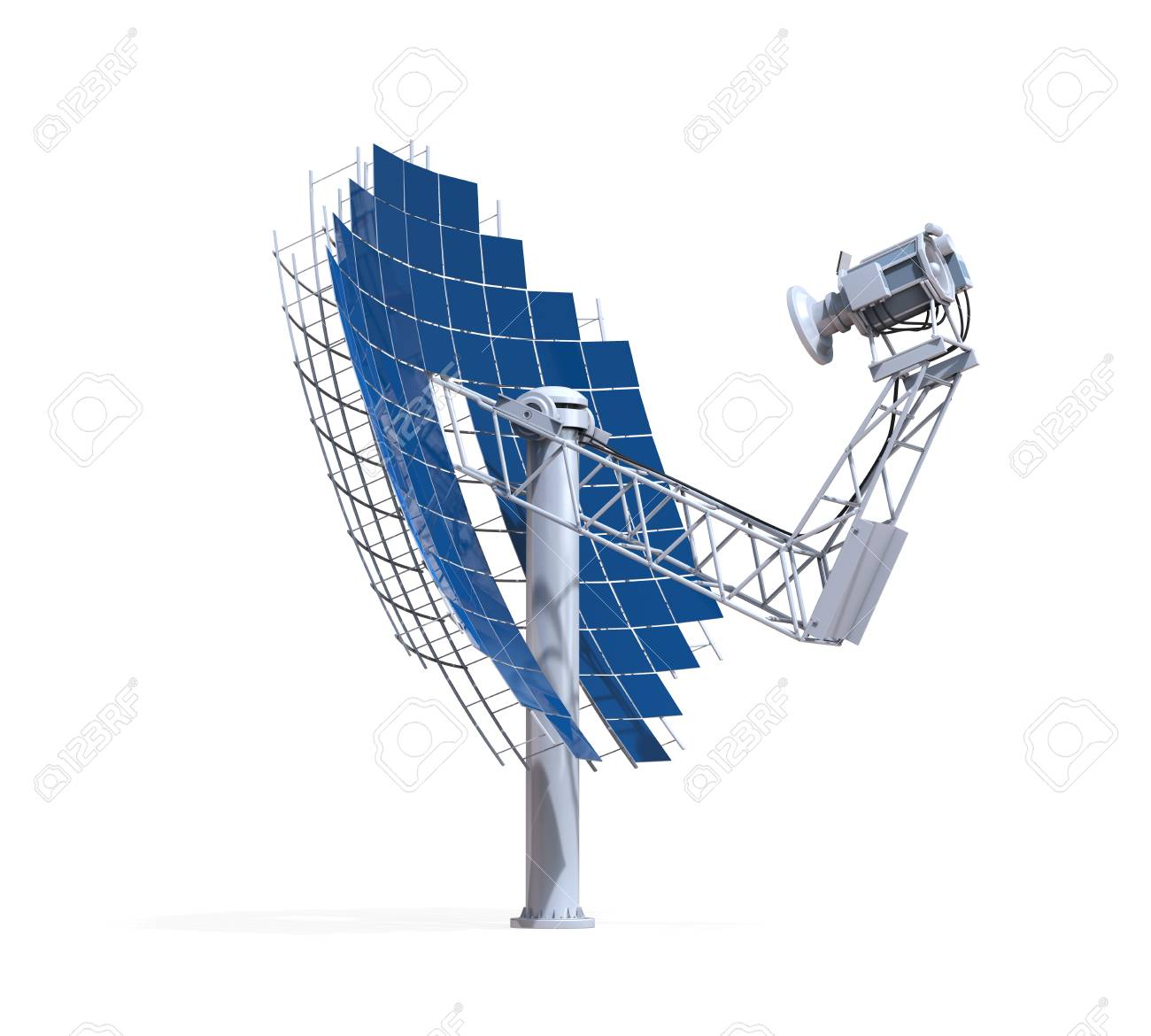 Solar Dish Engine Stock Photo Picture And Royalty Free Image Diagram 28829549