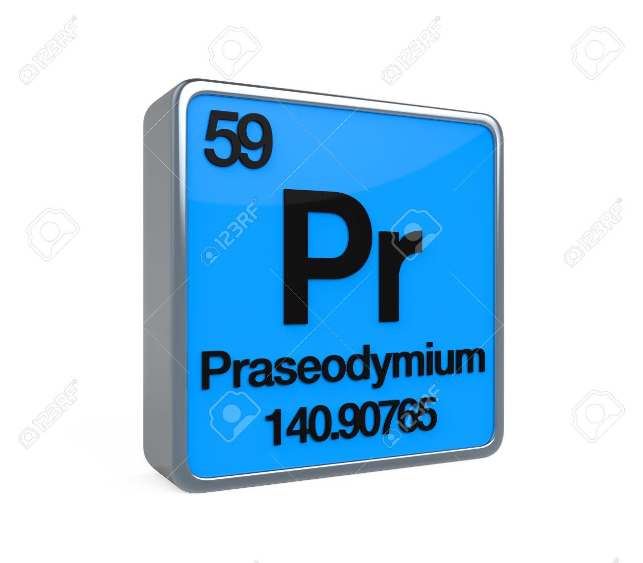 Praseodymium element periodic table stock photo picture and praseodymium element periodic table stock photo 32904212 gamestrikefo Gallery