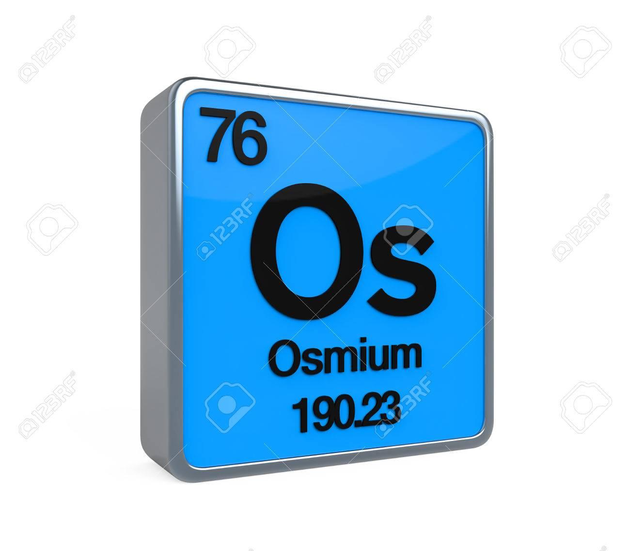 Osmium element periodic table stock photo picture and royalty osmium element periodic table stock photo 32898027 urtaz Images