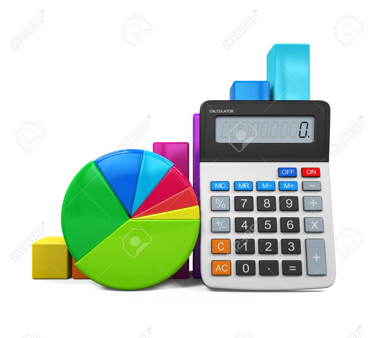 Calculator with bar graph and pie chart stock photo picture and calculator with bar graph and pie chart stock photo 38865124 ccuart Image collections
