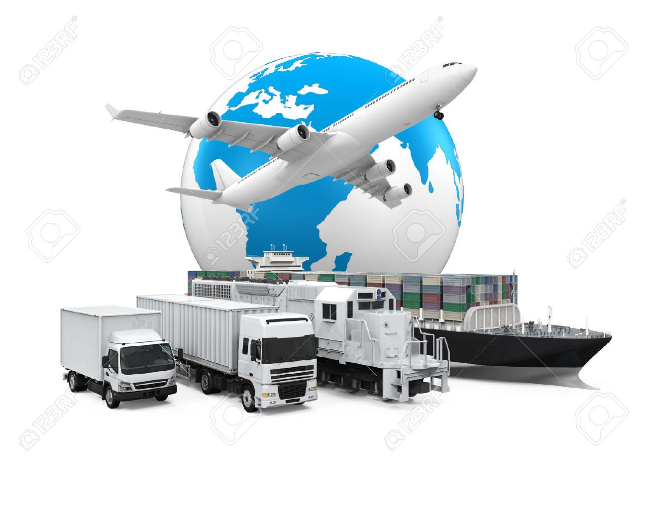 World Wide Cargo Transport Stock Photo - 47454183