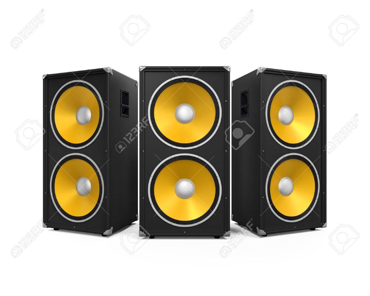 Large Audio Speakers - 48108099