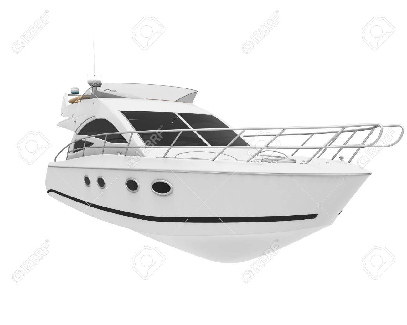 White Pleasure Yacht - 50284540