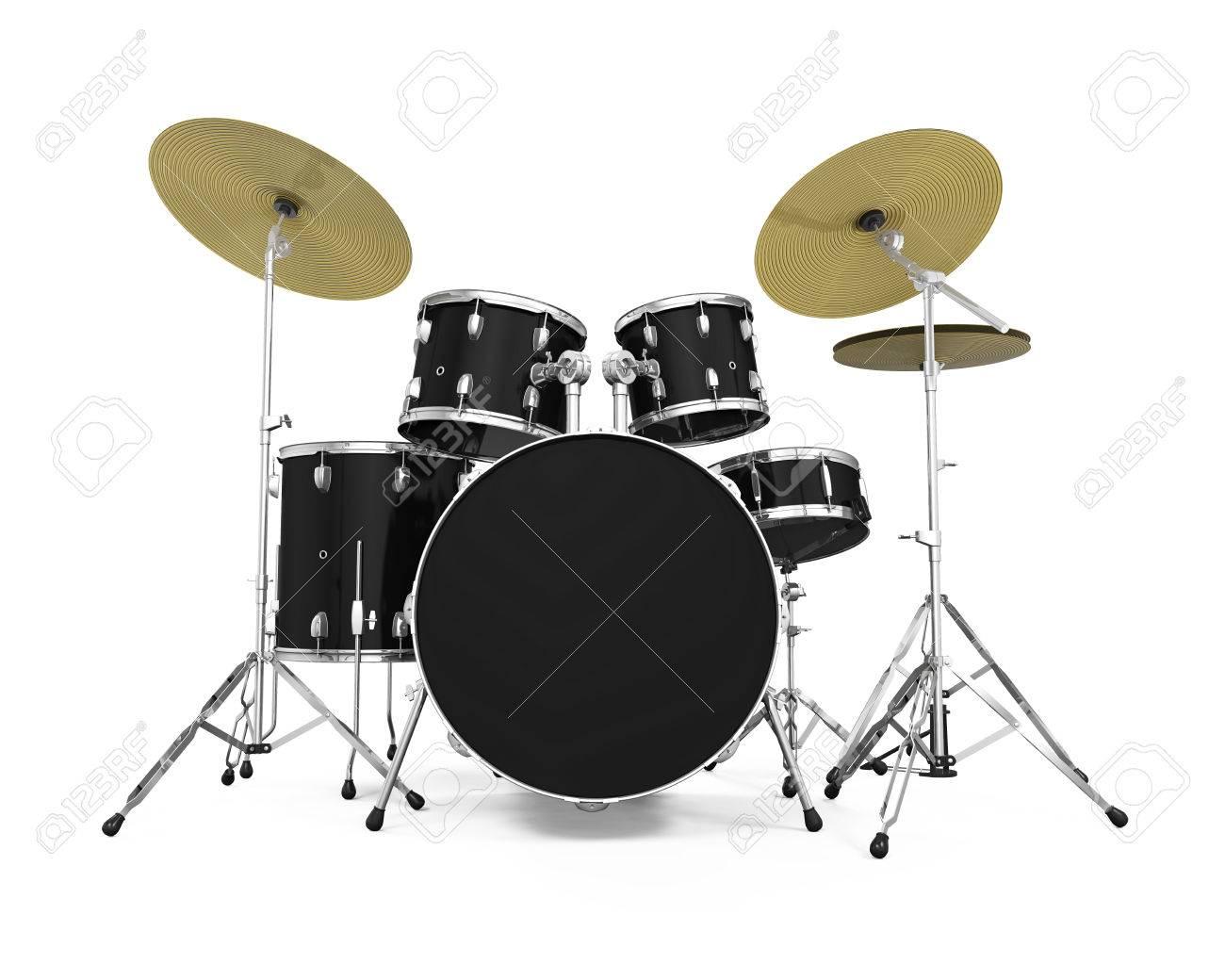 Drum Kit Isolated - 50673356