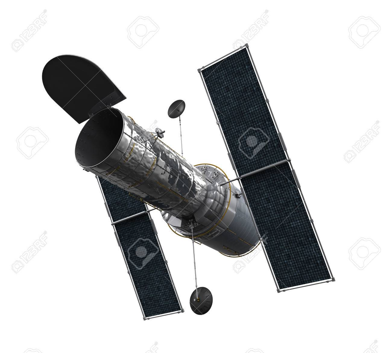 Space Telescope Isolated - 53614499