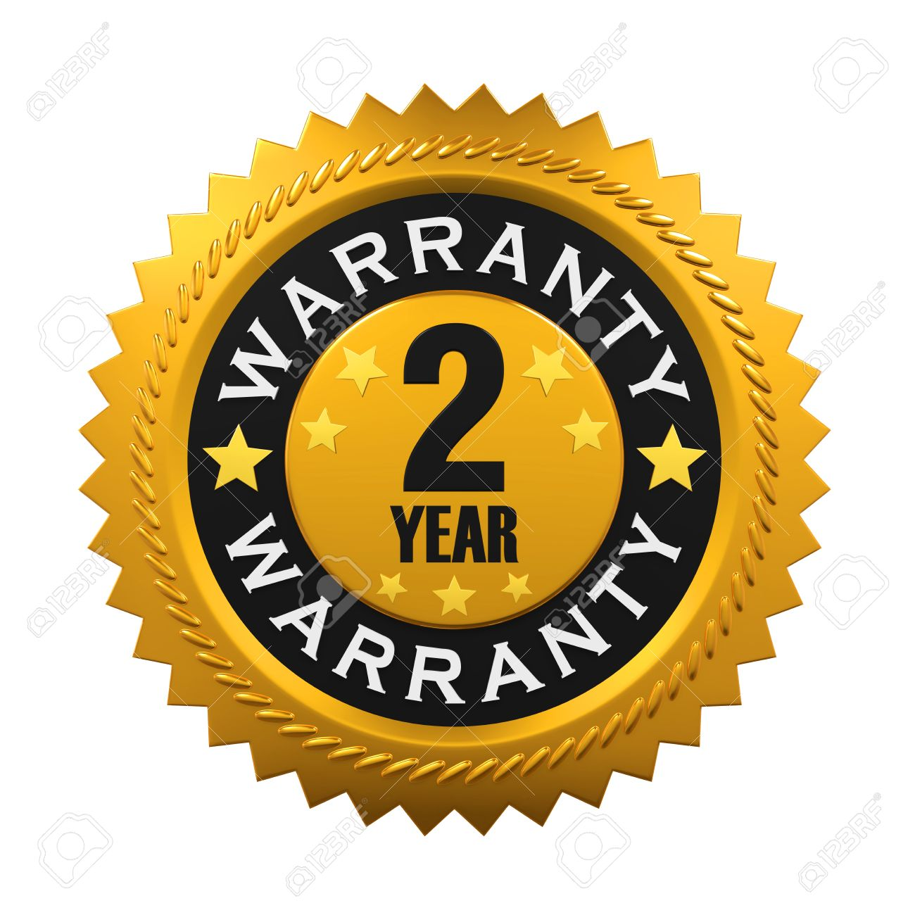 2 Years Warranty Sign Stock Photo, Picture And Royalty Free Image. Image 58977530.