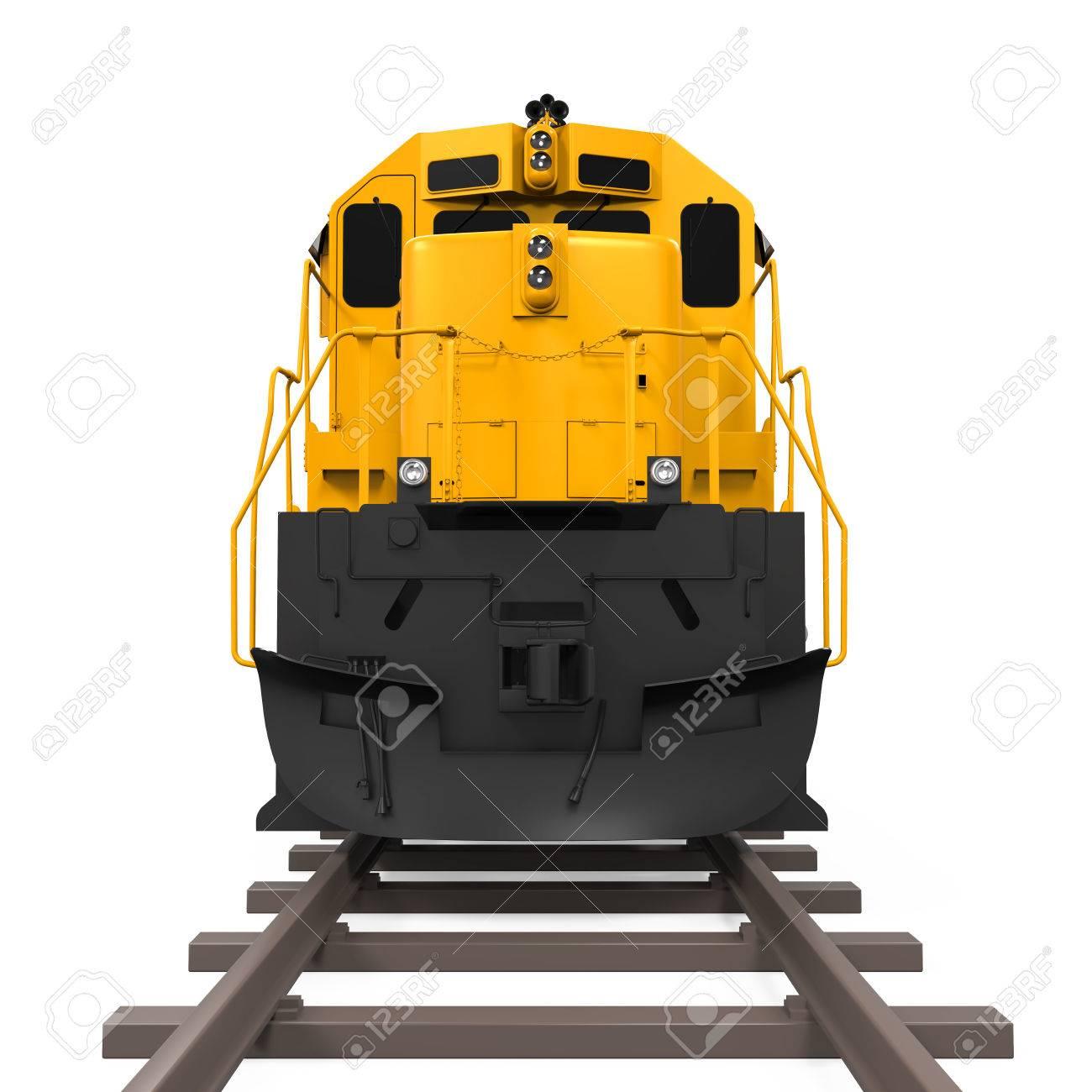 Yellow Freight Train - 62345851
