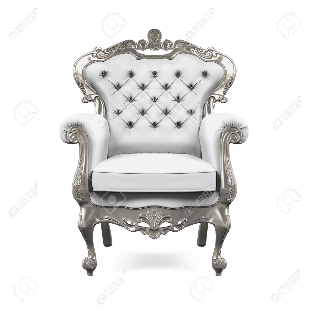 King Throne Chair Stock Photo   62345920