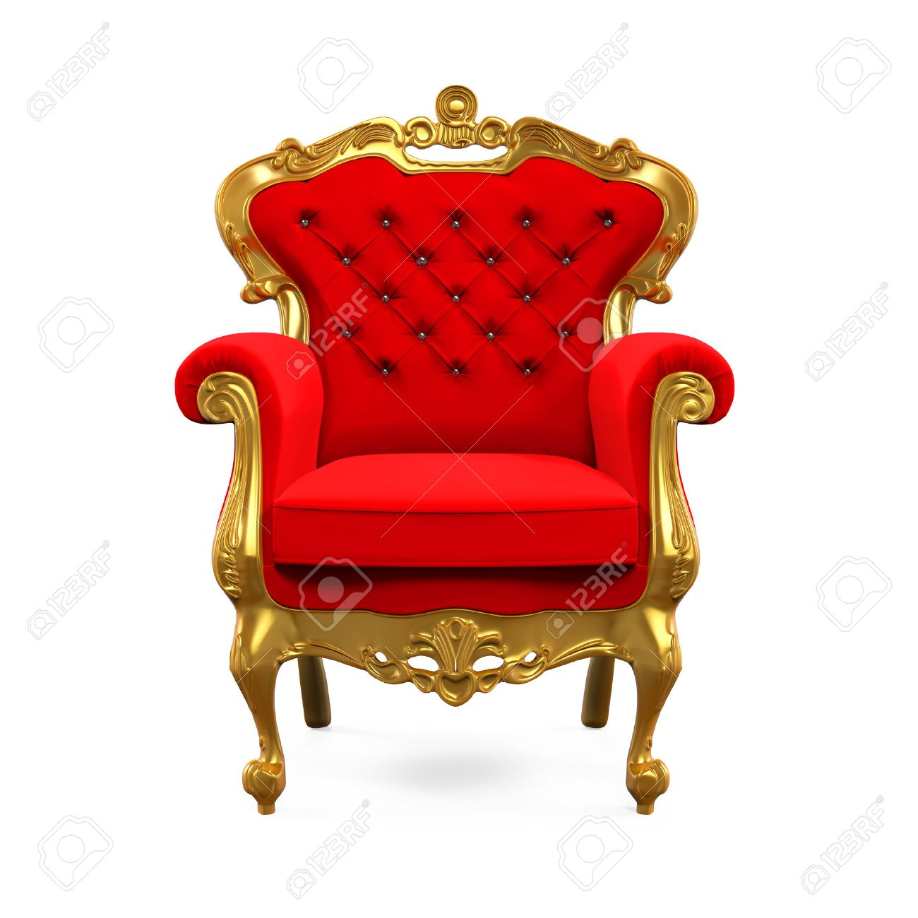 King Throne Chair Stock Photo   62345919