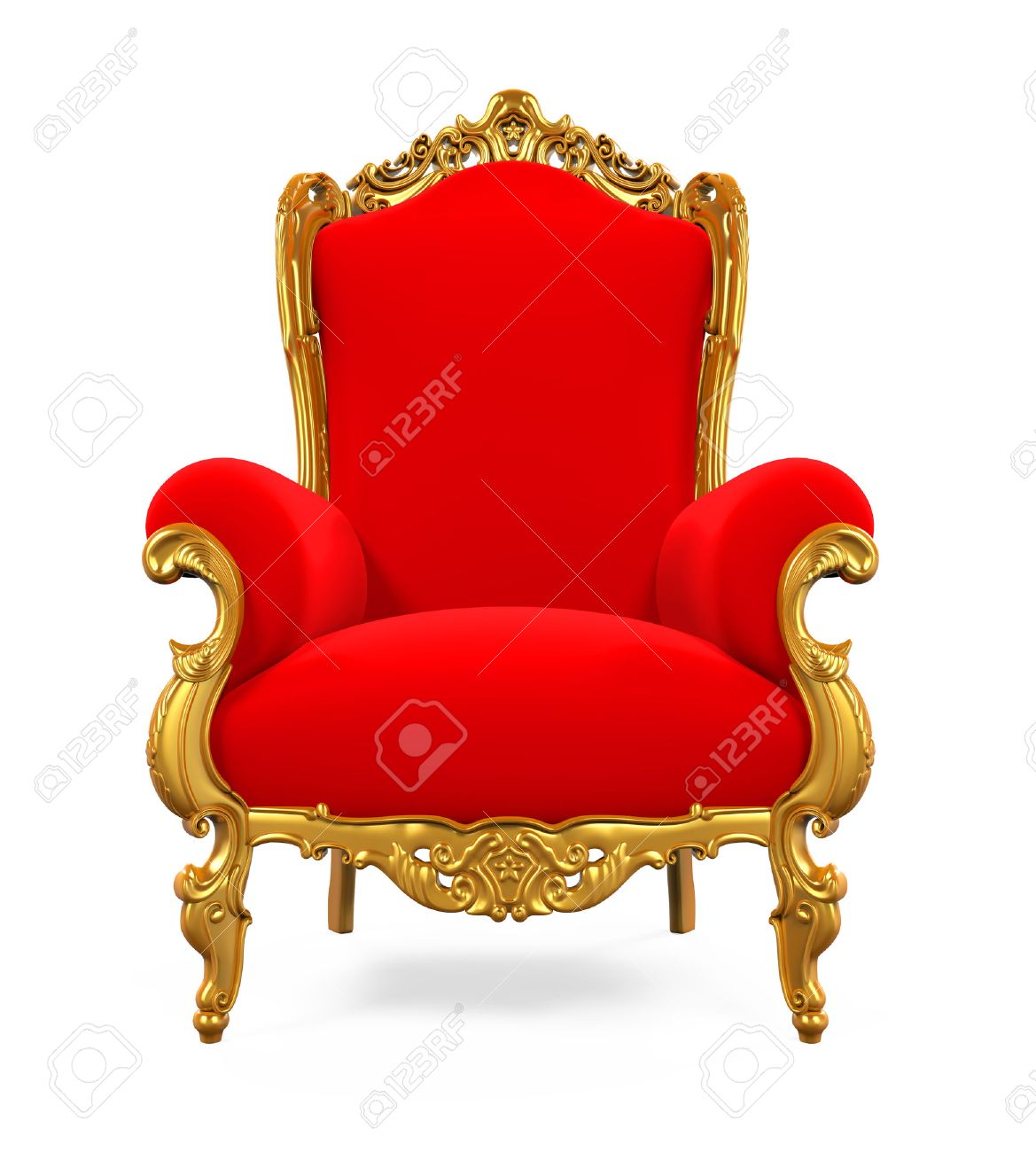 Exceptionnel King Throne Chair Stock Photo   62345924