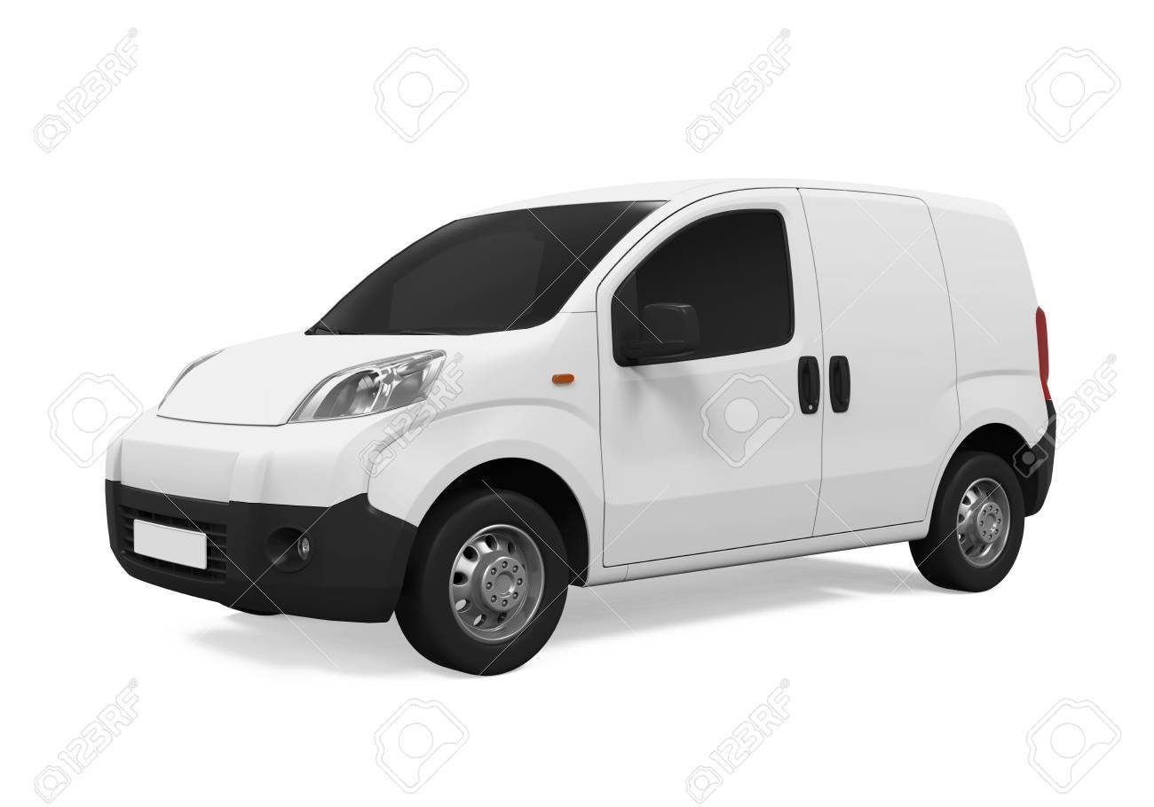 Delivery Van Isolated - 62346245