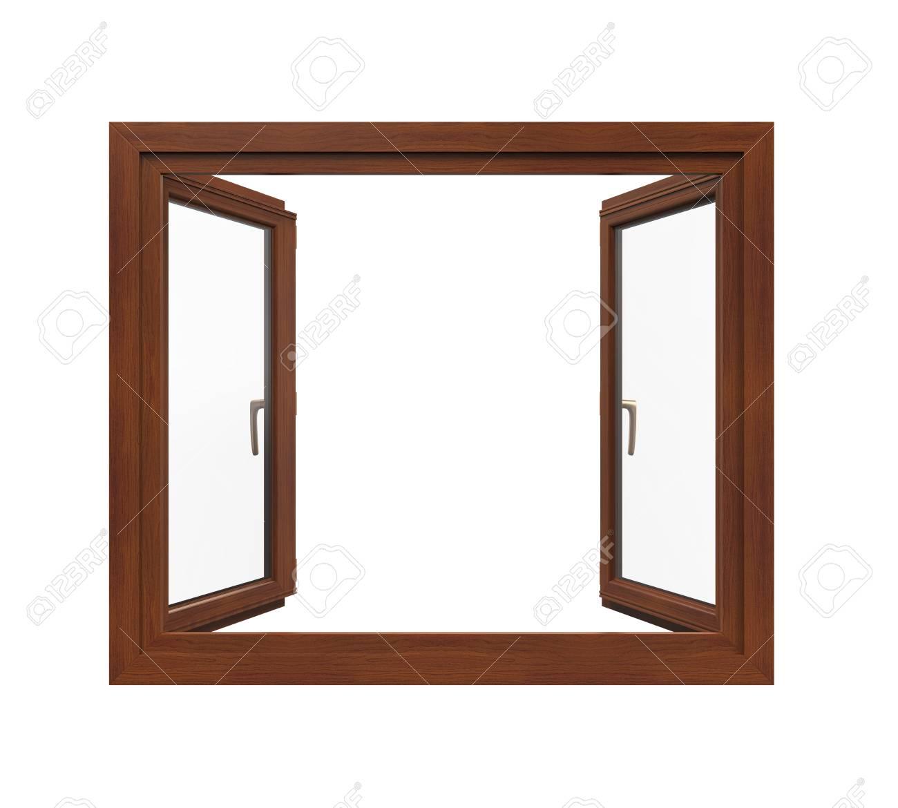 Window Frame Geïsoleerd Royalty-Vrije Foto, Plaatjes, Beelden En ...