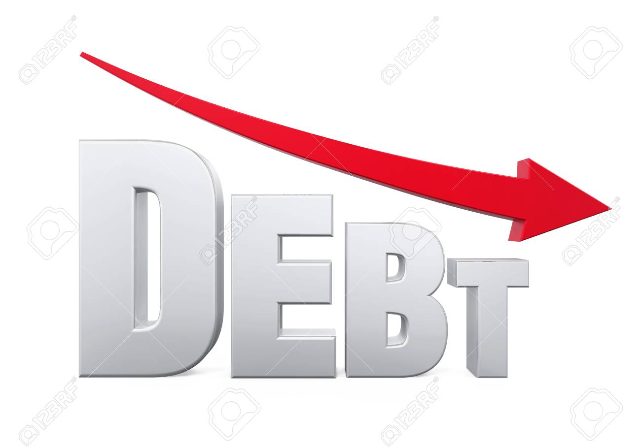Debt Reduction Concept - 70704723