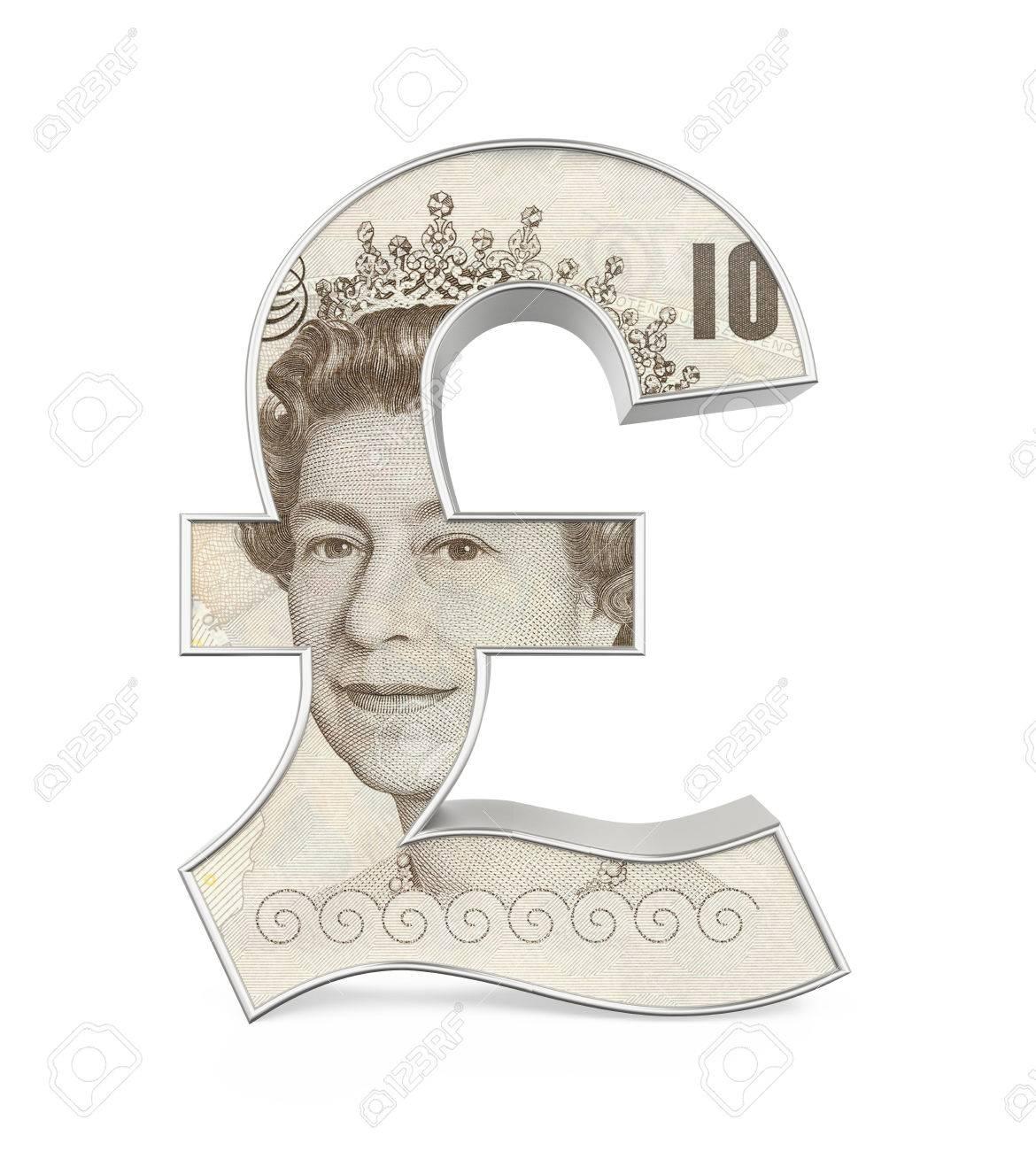 Great Britain Pound Symbol Royalty Free Stock Fotk Kpek S Stock
