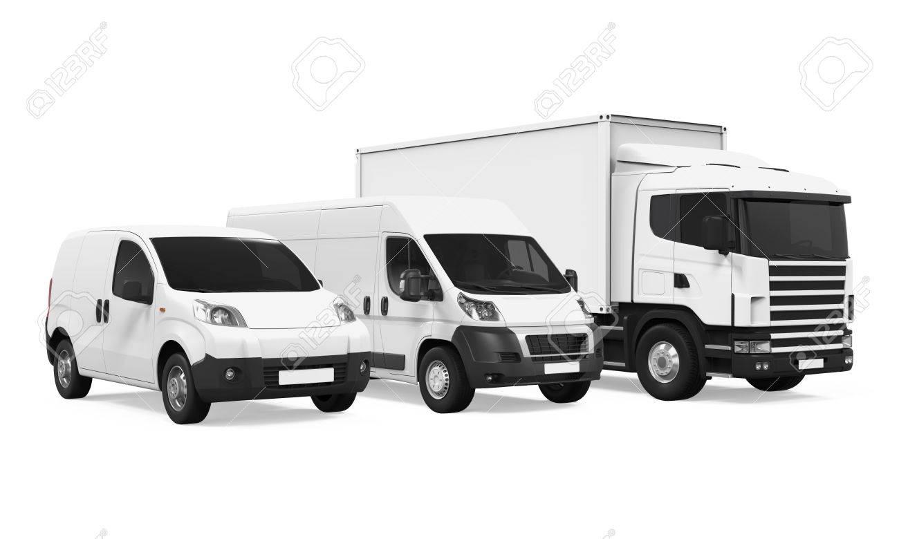 Fleet of Delivery Vehicles - 71655306