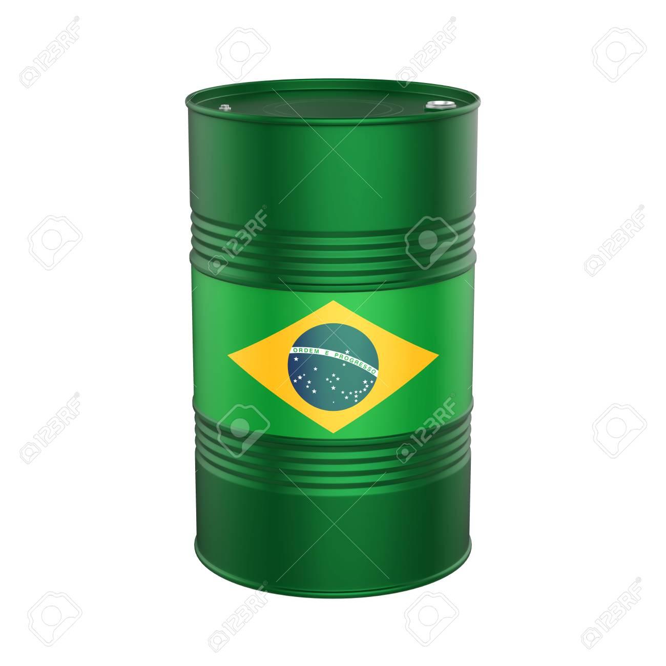 Brazilian Flag Oil Barrel - 80183103