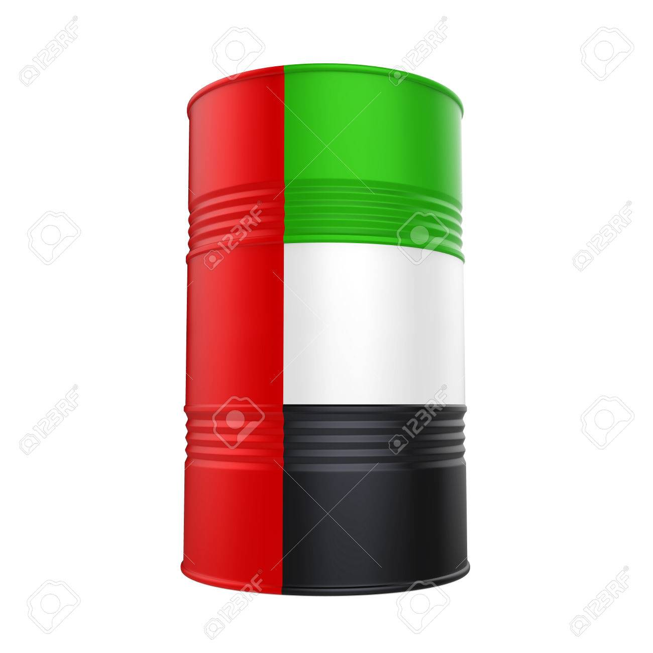 アラブ首長国連邦国旗石油バレル...