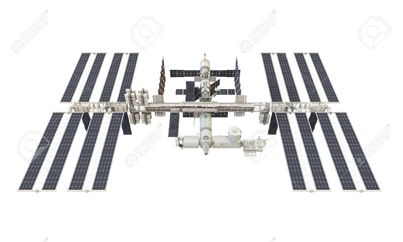International Space Station Isolated - 84415242