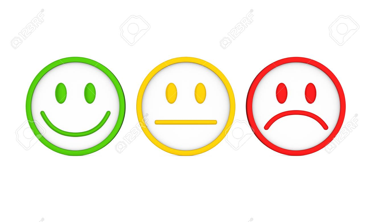 Smiley Faces Icons Isolated - 85561222