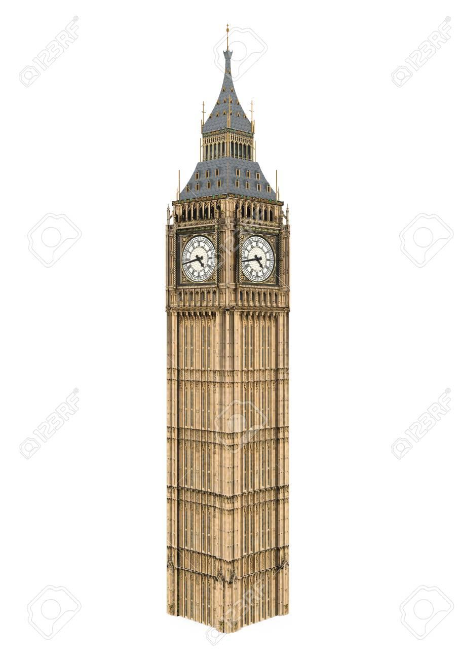 Big Ben Isolated - 94545370