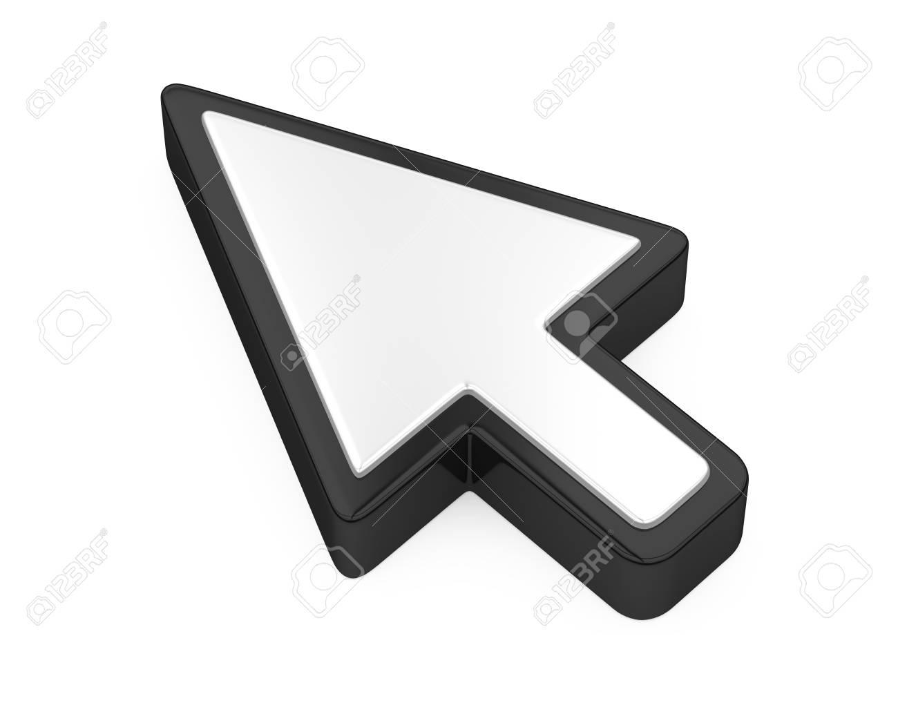Mouse Cursor Arrow Isolated - 102511072