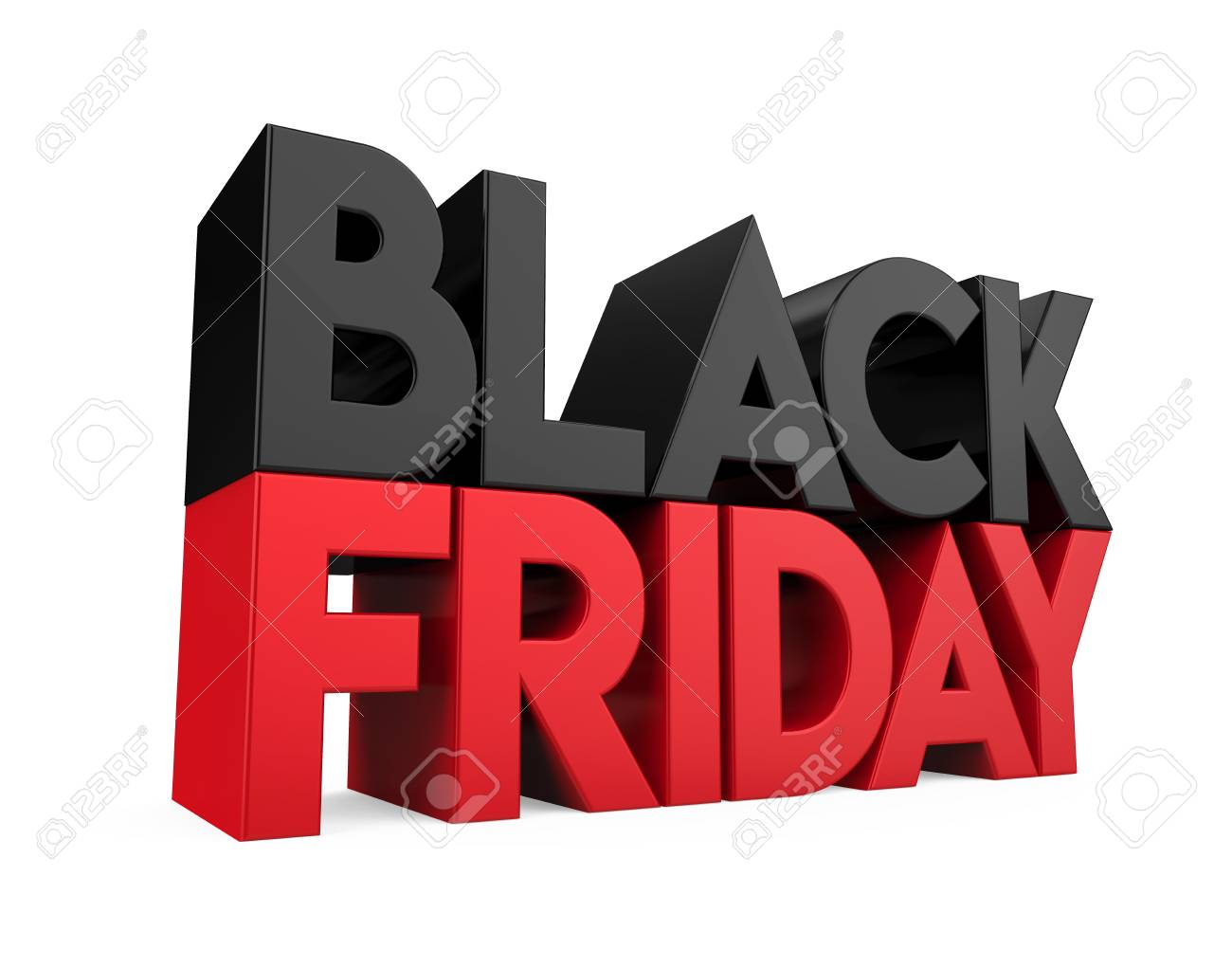 Black Friday Concept Isolated - 108367836