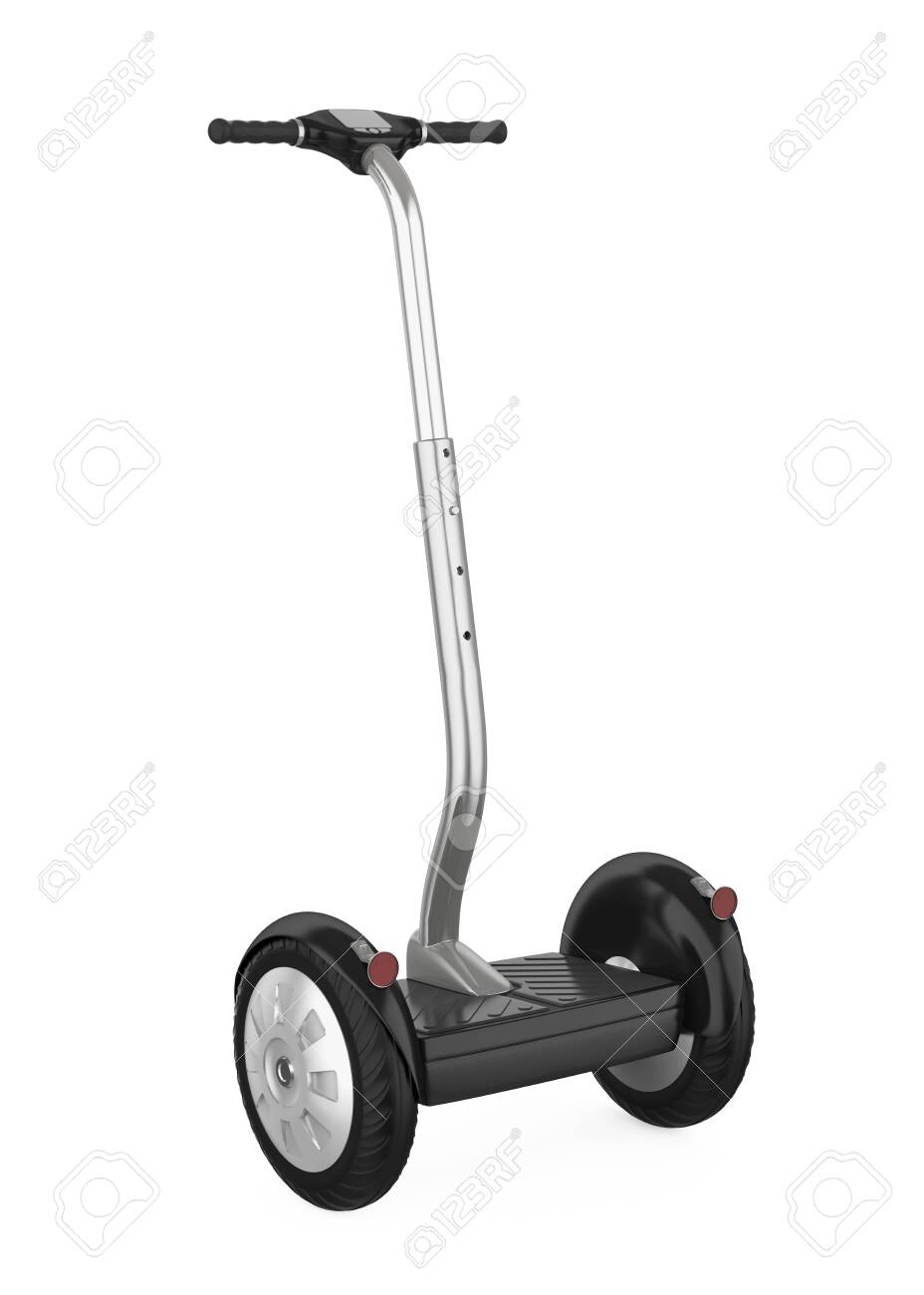 Hoverboard With Handle Isolated Stock Photo Picture And Royalty Free Image Image 133466422