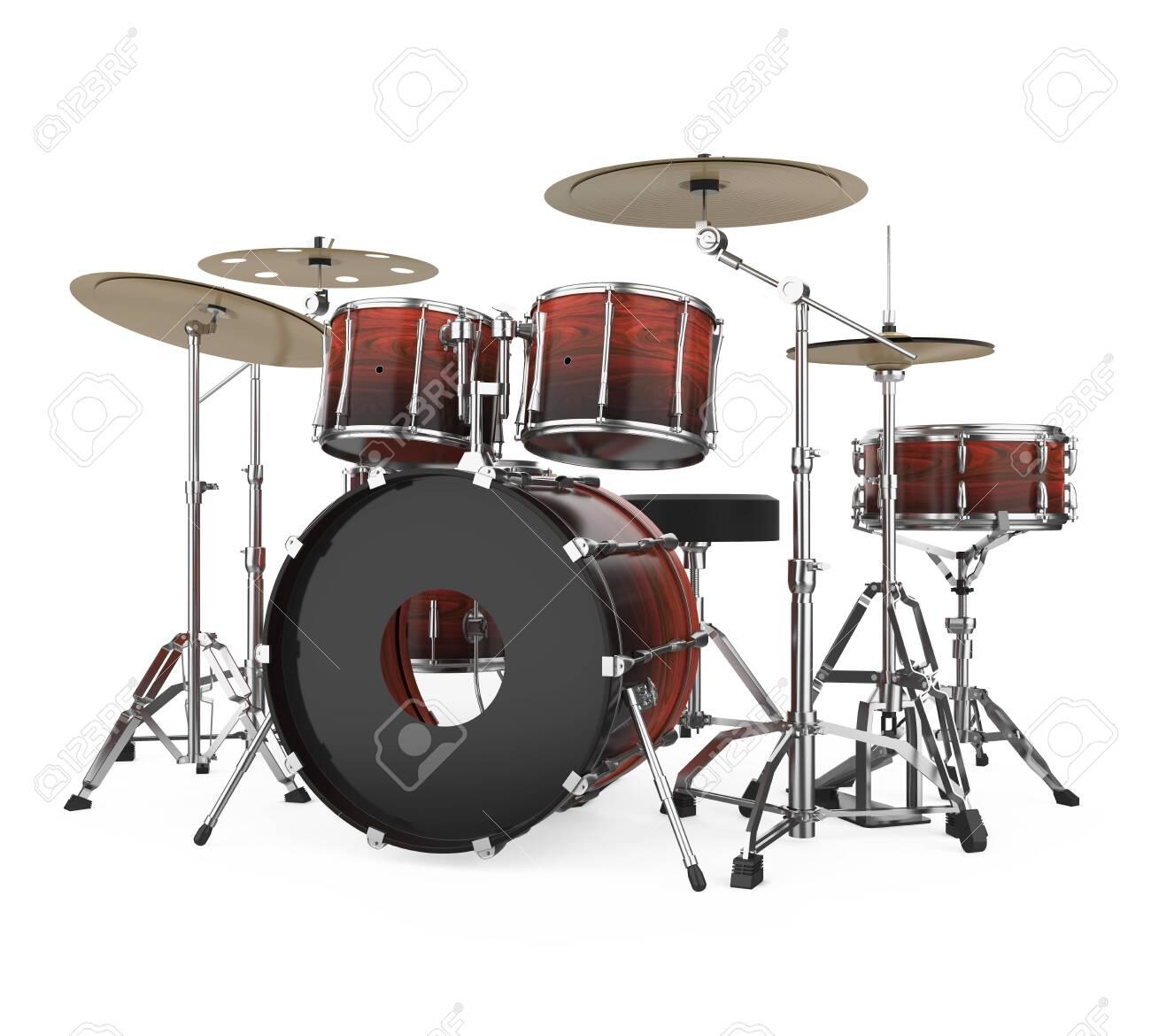 Drum Kit Isolated - 146544687