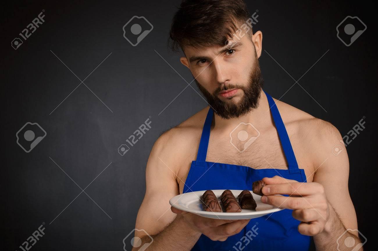 Hot men chocolate naked, la fucking