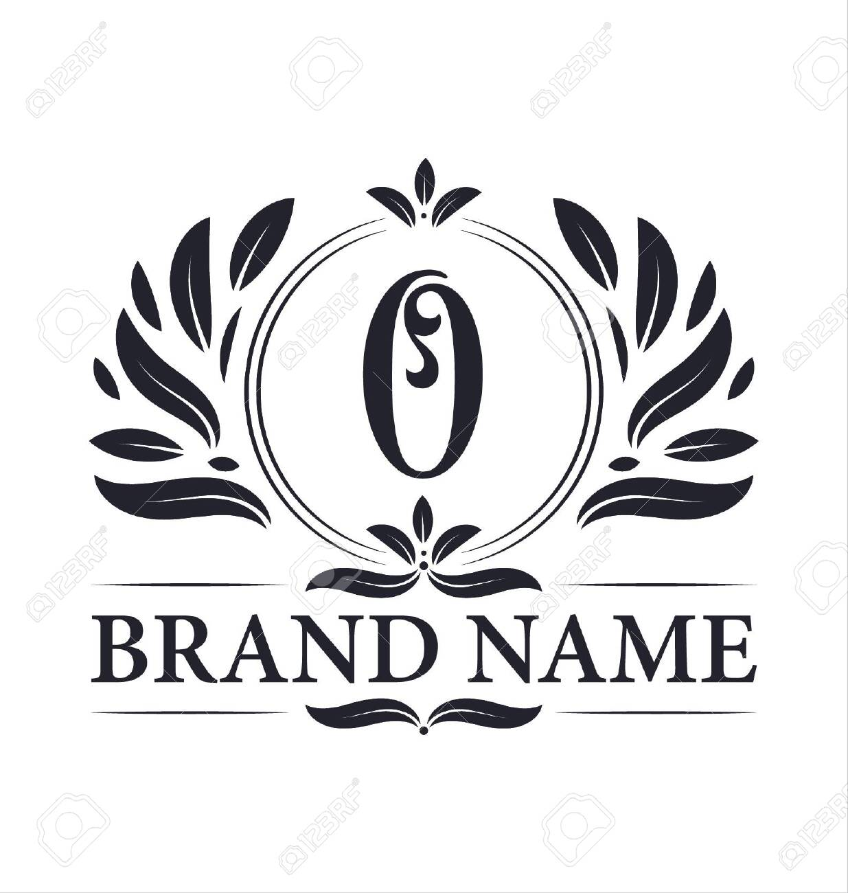 Luxury logo design Letter O logo. Vintage elegant ornamental alphabet O letter logo design. - 141058808