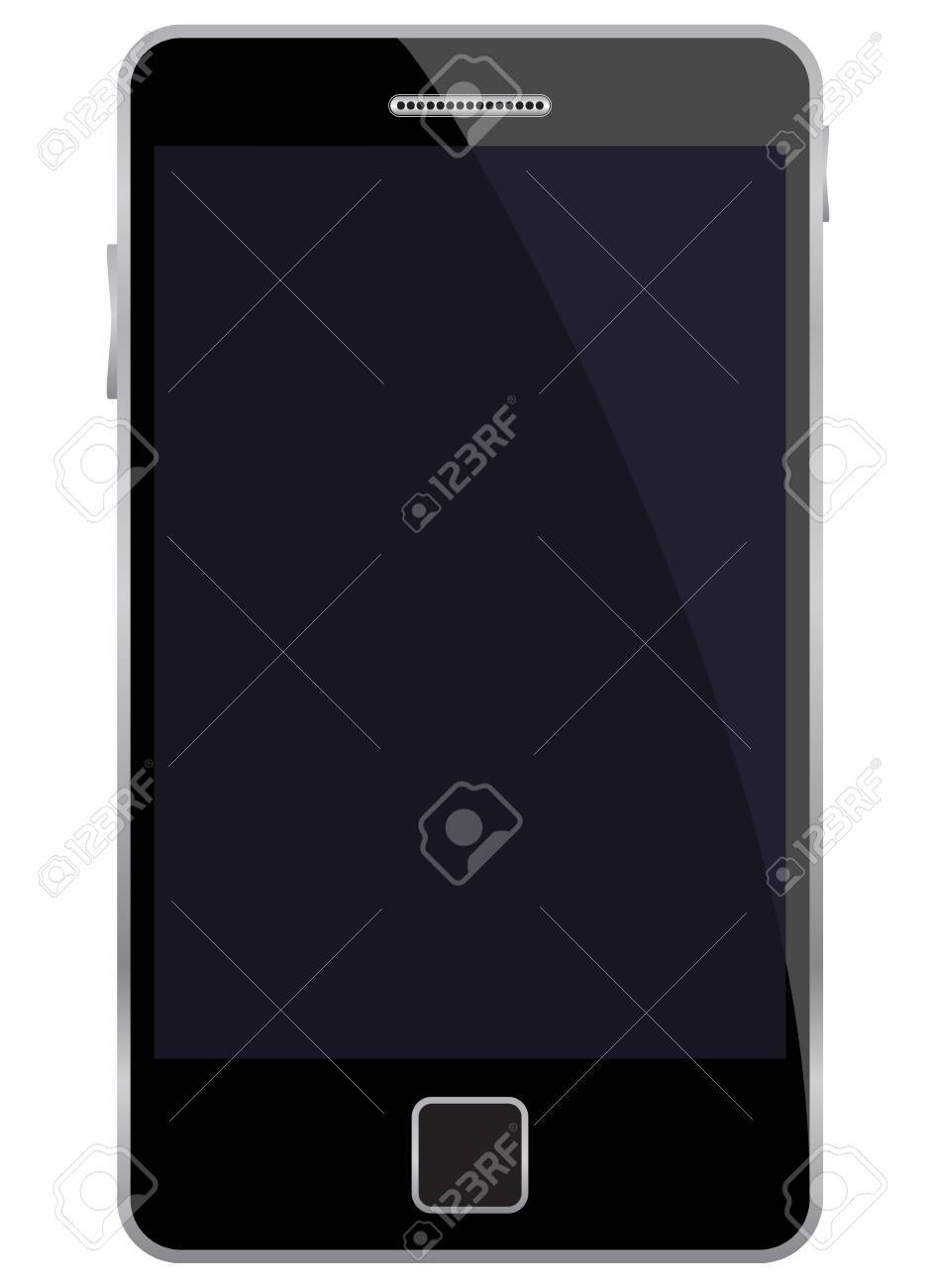illustration of mobile phone. Stock Vector - 10863685