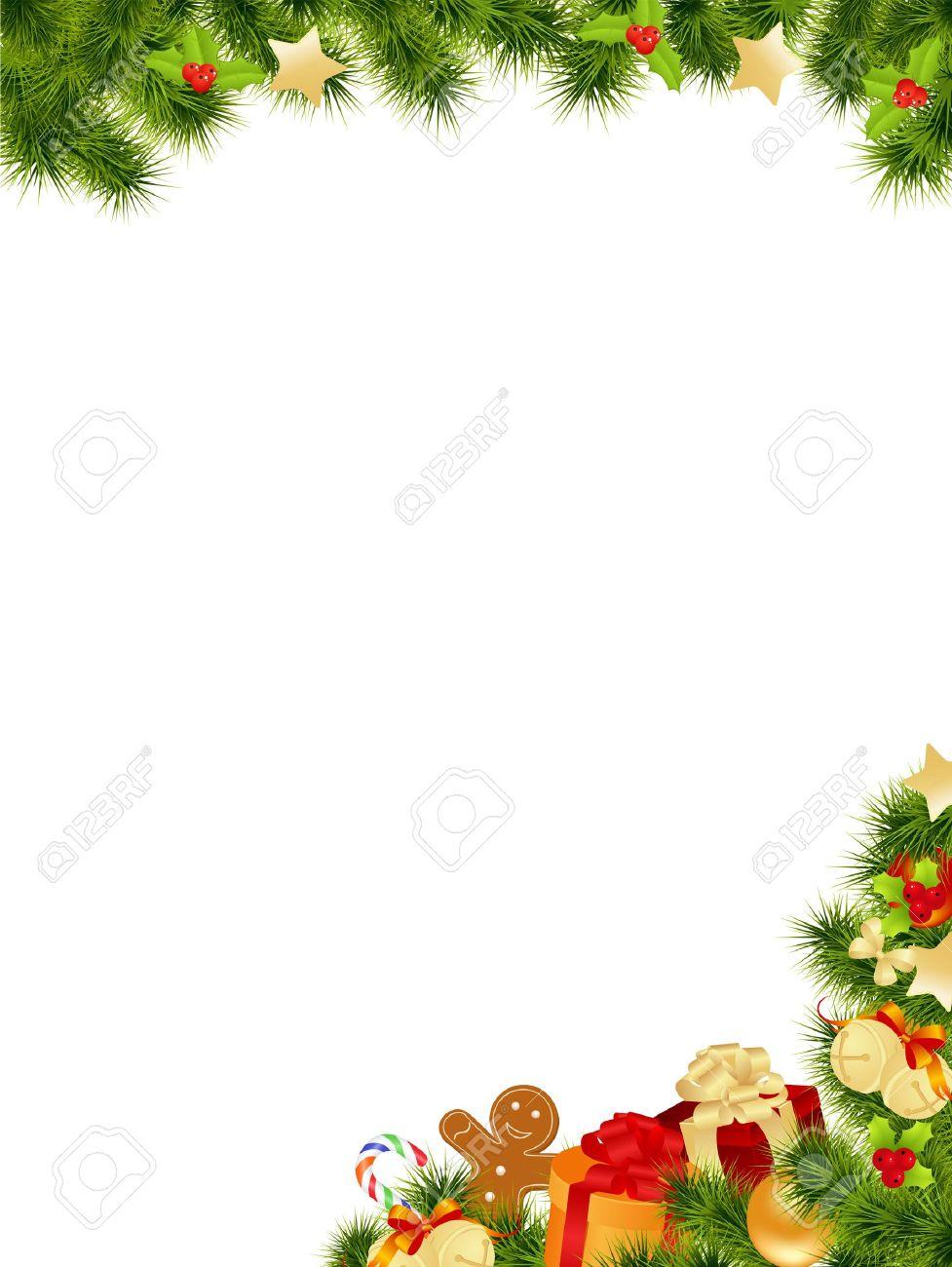 Christmas Card Background. Vector Illustration. Stock Vector   10998812