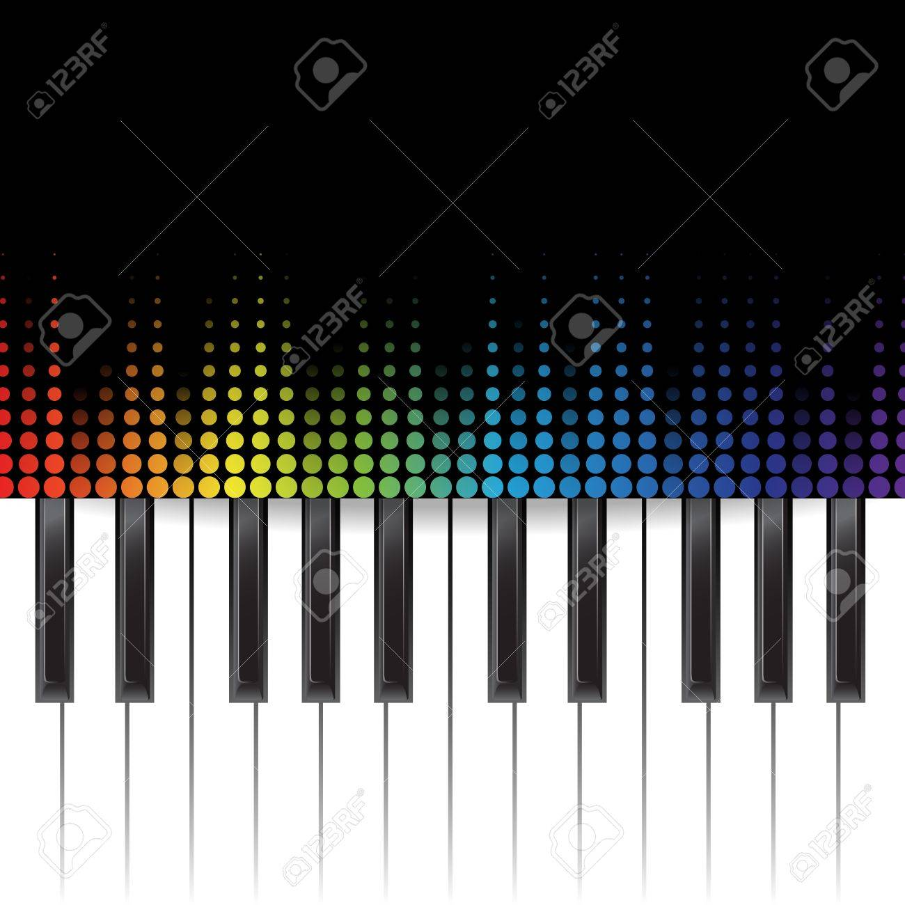poster background template music piano keyboard can be used