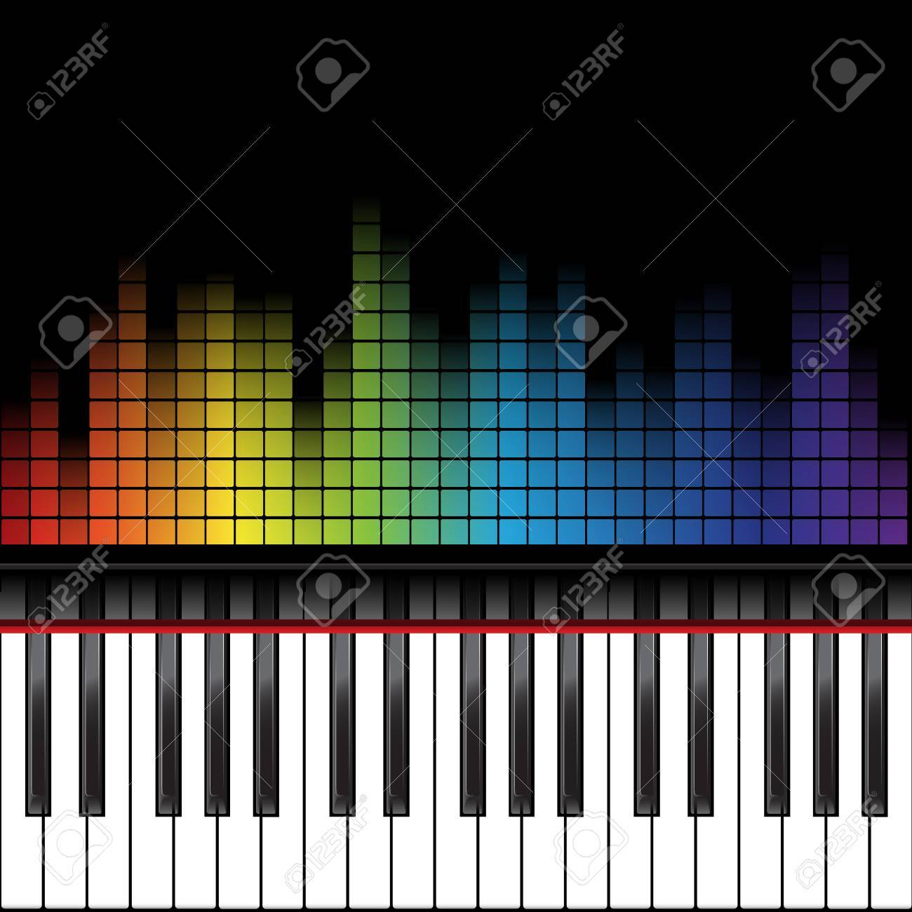 Poster Background Template Music Piano Keyboard Can Be Used As Element Or Icon