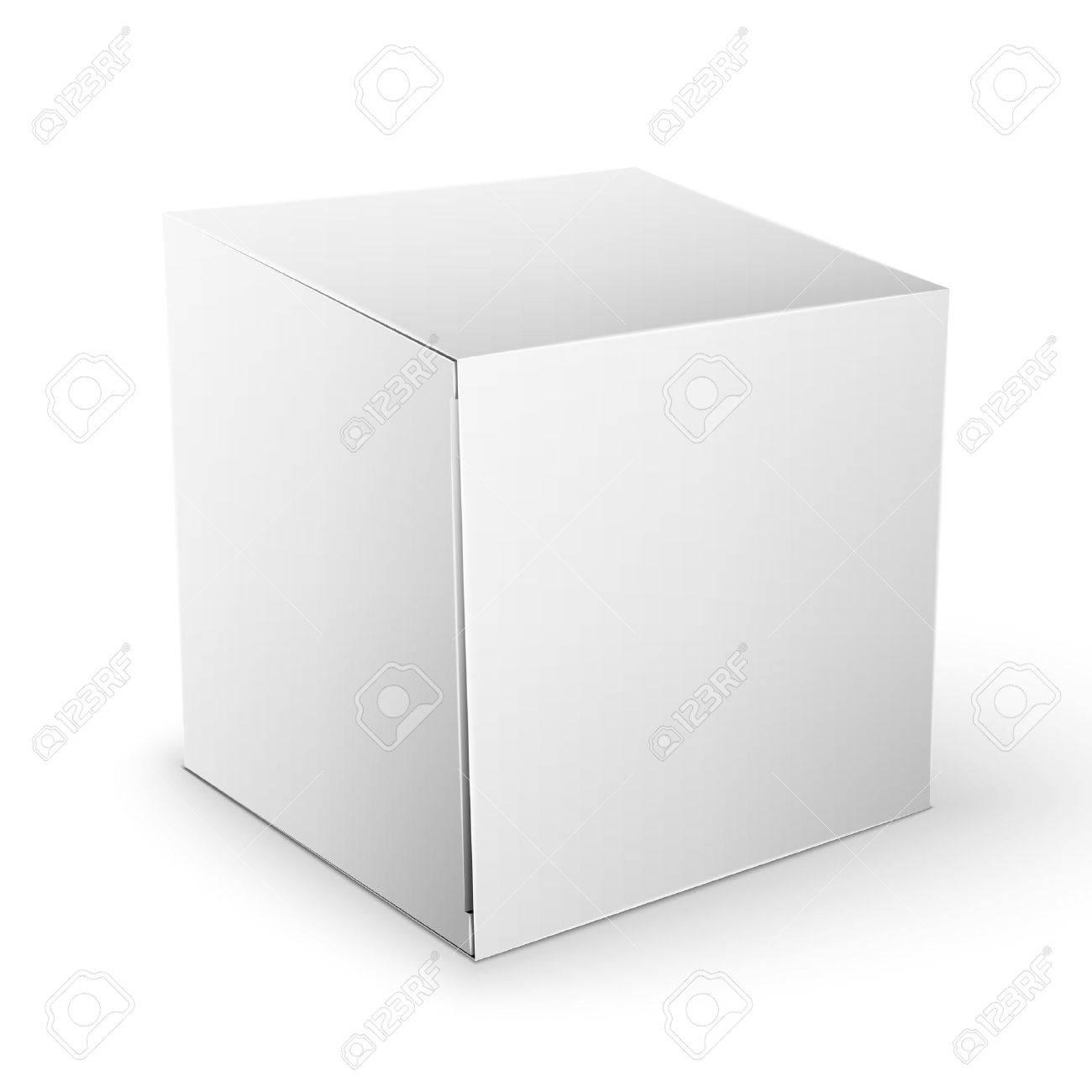 Innenarchitektur Mypaketkasten Das Beste Von Weiß Artikel Psuperbe Quadrat-paket-kasten Standard-bild - 36647187