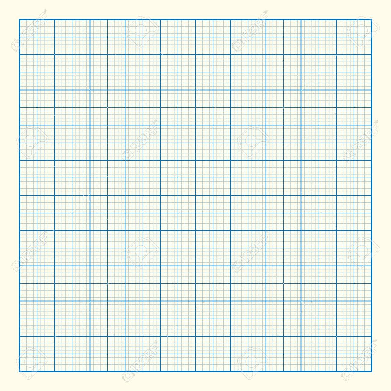 Gráfico De Fondo De Papel De Cuadrícula, Excelente Ilustración ...