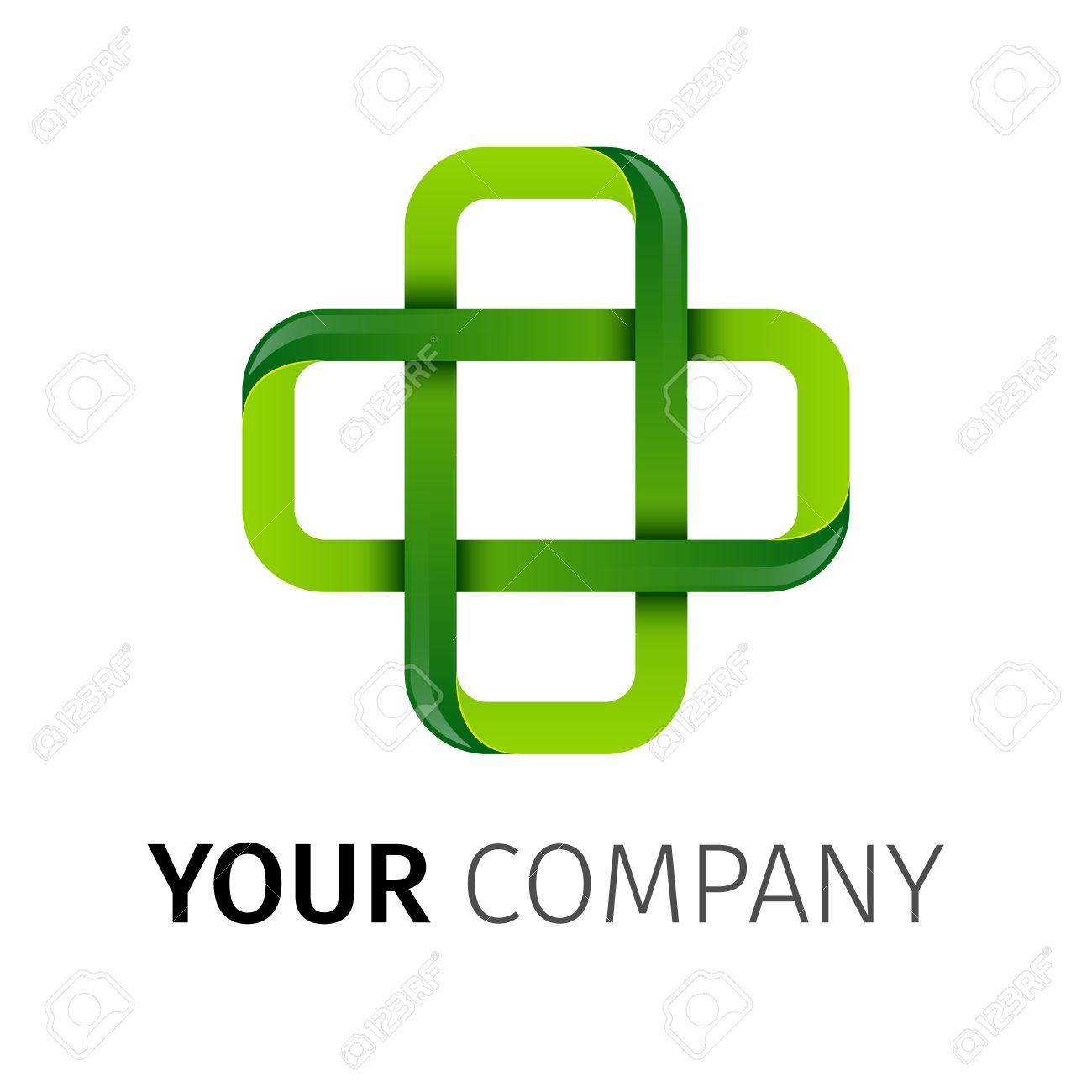 pharmacy green cross abstract vector logo design template medicine rh 123rf com pharmacist logo design pharmacy logo design samples