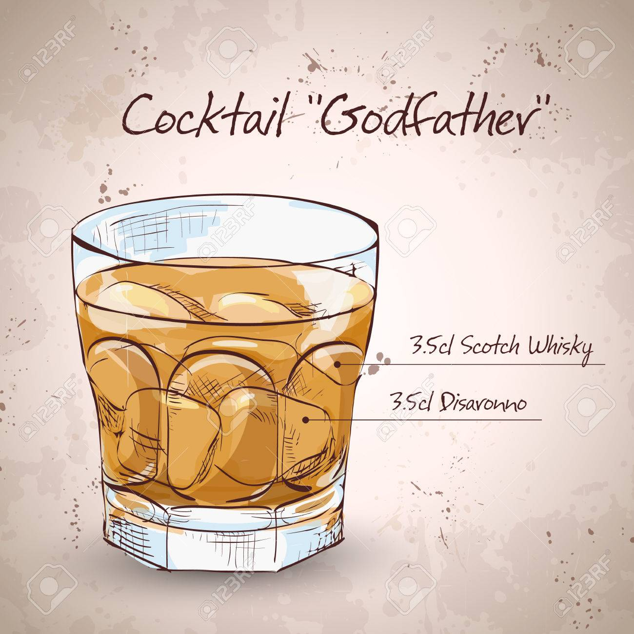 ゴッドファーザー カクテル
