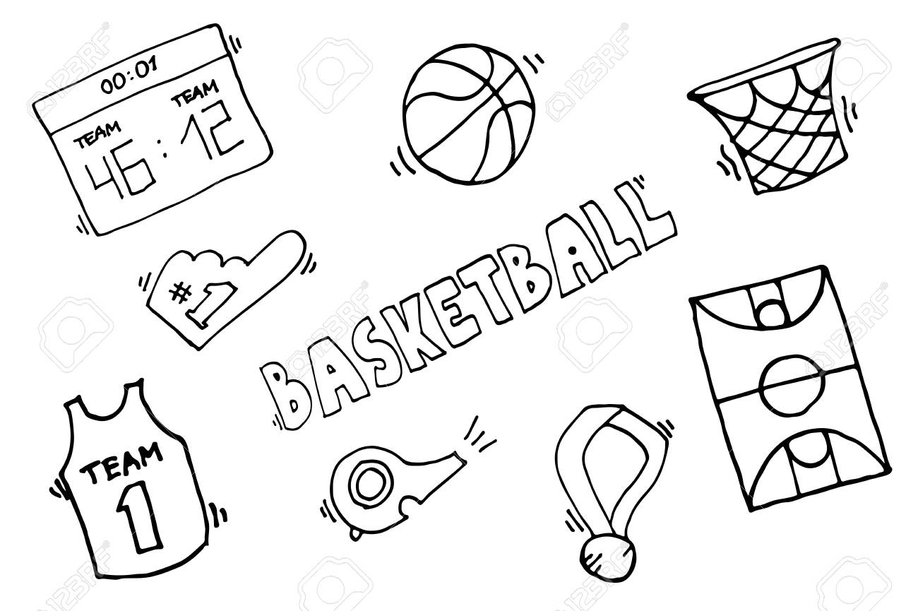 Simple basketball vector elements basketball game icon element simple basketball vector elements basketball game icon element for basketball play basketball illustration biocorpaavc Choice Image